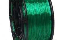 Pet-g изумрудный прозрачный цвет 1.75мм (НИТ) - 3DPlast