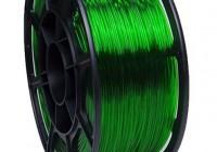 Pet-g зелёный прозрачный цвет 1.75мм (НИТ) - 3DPlast